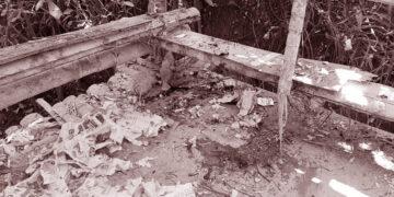പൊന്ന്യത്ത് ബോംബ് സ്ഫോടനം നടന്ന സ്ഥലം