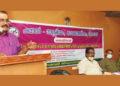 സെമിനാറില് ടി.പി. സെന്കുമാര് ഉദ്ഘാടനഭാഷണം നടത്തുന്നു.